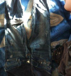 Для беременных джинсы bershka