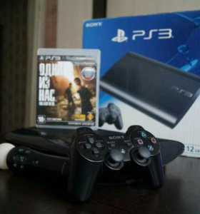 PS3 + Playstation Move+2игры