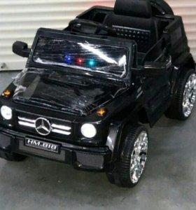 Новый электромобиль Mercedes G55