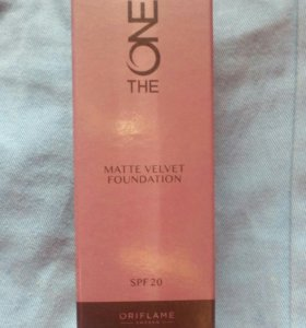 Тональная основа The One Matte velvet foundation