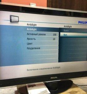 ЖК телевизор Philips 42PFL9603. Т2651.