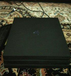 Игровая консоль PlayStation4 Pro1Tb+fifa18+ 2геймп