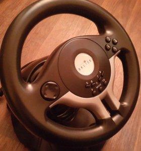 Гоночный руль с педалями Oklick w-5