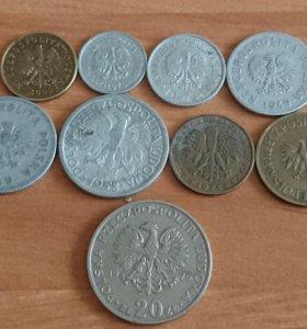 Набор монет Польши.