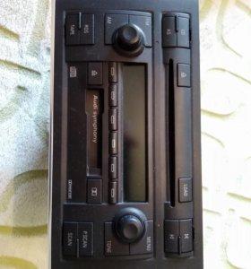 Штатная магнитола AUDI A4 2003, 2004 ГОД