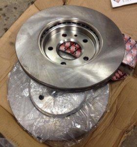 диски тормазные передние опель астра