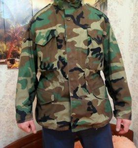 Новый куртка камуфляж Вудлэнд