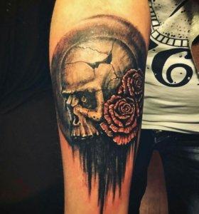 Мастер татуировки (набить, перебить, свести)