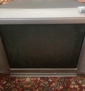 Телевизор Toshiba + ресивер