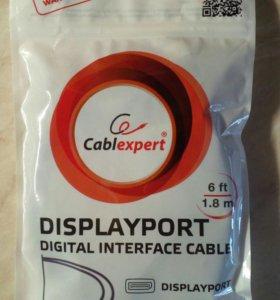 Новый кабель displayport