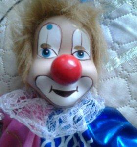 Клоун-'марианетка, новый  большой и мал.,зайка