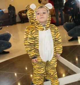 Карнавальный новогодний костюм тигренка