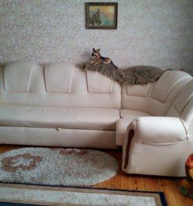"""""""НОВЫЙ"""" Мягкий уголок  с креслом."""