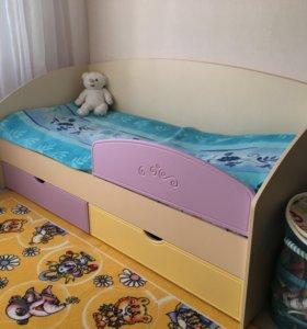 Новая детская кровать 190/80