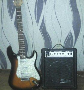 Электро-гитара.