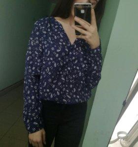 Рубашка блузка футболка H&M