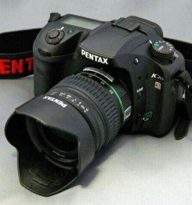 🔥Фотоаппарат Pentax K20D+2объектива+сумка