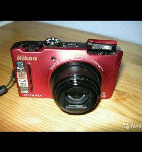 Nikon CoolPix S8100 red