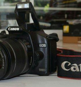 🔥Зеркальн фотоаппарат Canon EOS 500D Kit +EFS18-5