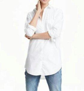 Рубашка н&м 48