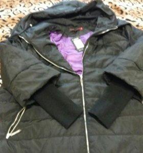 Куртка зимняя большого размера