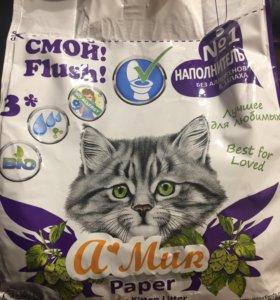 Новый!!!Наполнитель для кошачьего туалета