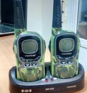 Радиостанция VOXTEL MR 550 TWIN. Б/у.