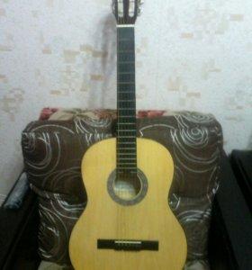 Обычная Гитара с Чехлом