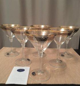 Новые бокалы Богемия