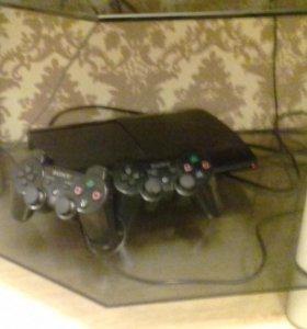 PS3 + 2 контолёра,GTA 5,Fifa 17