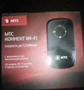 3G WI-FI- роутер МТС на 4 устройства одновр