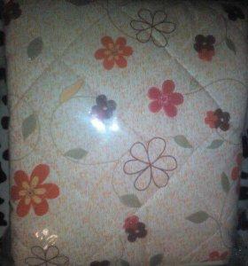 Стёганое шерстяное одеяло
