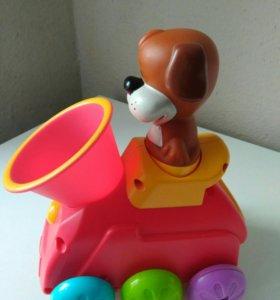 """Интерактивная игрушка """"паровозик"""""""