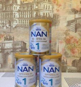 NAN гипоаллергенный (смесь молочная)