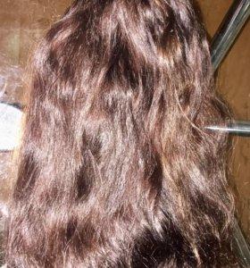 Натуральные, вьющиеся волосы