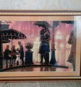 Картина ручной работы из бисера
