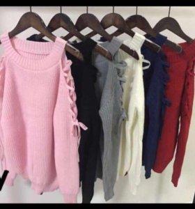 Джемпер,свитер,кофта вязанная
