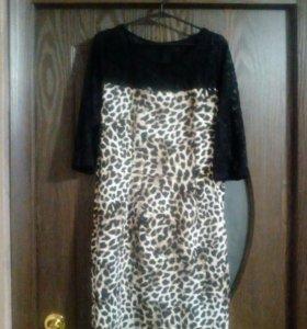 Платье 46-48 в хорошем состоянии, одето 1- 2 раза