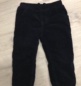 Утеплённые брюки для девочки