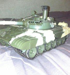 Танк Т-72 от деагостини