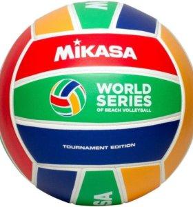 Мяч для пляжного волейбола Mikasa World Tour