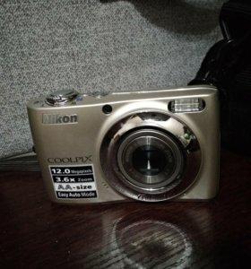 Фотоаппарат Nicon Coolpix L22