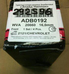 Тормозные колодки на 2121 Chevrolet