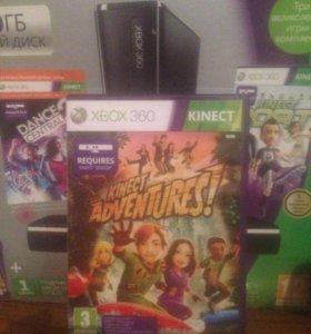 Kinect для Xbox 360 с двумя лиц. игровыми дисками