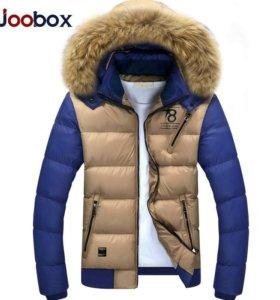 Зимняя куртка новая р-р 44-46