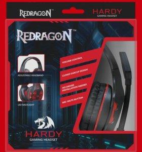 Игровые наушники,новые,доставка , Redragon Hardy.
