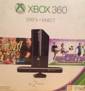 Xbox 360+ 5 игр+  ТОРГ!!!