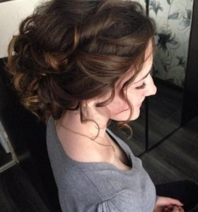 Прически свадебные, вечерние,косы
