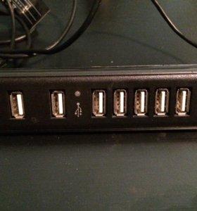 USB 2.0 концентратор,контролёр, разветвитель.