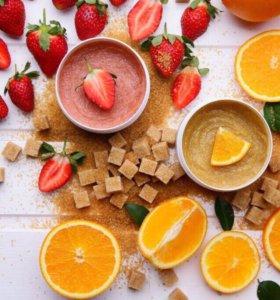 Обновляющий скраб для тела Orange